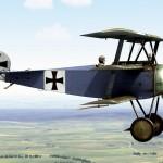 Fokker Dr1 193/17 Jasta 13 Schwartz