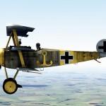 Fokker Dr1 577/17 Jasta 27 Klimke