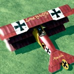 Amish's Personal Fokker Dr.1 Skin for Rise of Flight