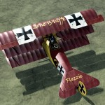 Flozzie's Personal Fokker Dr.1 Skin for Rise of Flight