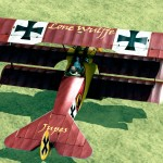 Jupes's Personal Fokker Dr.1 Skin for Rise of Flight