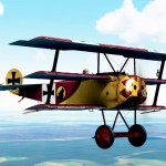Default Lone Wulffe Squadron Fokker Dr.1 Skin