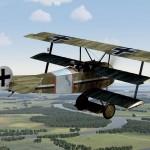 Fokker Dr.1 489/17 of Jasta 14