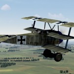 Fokker Dr.1 441/17 Piloted by Bongartz of Jasta 36
