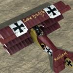 LW Fokker Dr.1 Skin for LW_Malhard