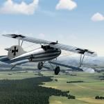 Albatros D.Va Piloted by Walter Boning